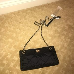 NWT dkny quilted crossbody purse!